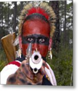 Seminole Warrior Metal Print