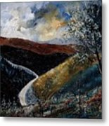 Semois Valley Metal Print