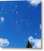 Sending Love Notes To Heaven Metal Print