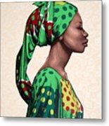Senegalese Woman Metal Print
