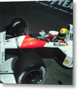 Senna Into 9 Metal Print