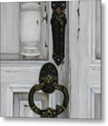 Senor Cuellos' Door Metal Print