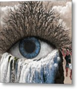 Sense Of Sight Metal Print
