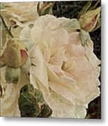 Sensual Kiss Of Yesteryear Metal Print