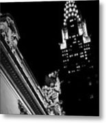 Sentinel For Grand Central Metal Print