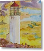 Sentinel Lighthouse Metal Print