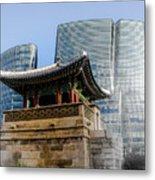 Seoul, Old And New Metal Print