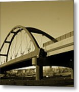 Sepia Treatment Metal Print