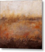 Sepia Wetlands Metal Print