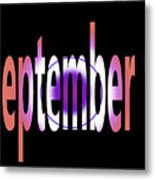 September 9 Metal Print