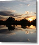 September Sunset In Prosser Metal Print
