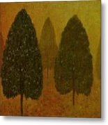 September Trees  Metal Print