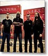 Sepultura Metal Print