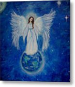 Seraphina Metal Print by The Art With A Heart By Charlotte Phillips