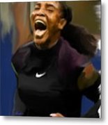 Serena Williams '16 Metal Print