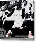 Serena Williams Victory Metal Print by Brian Reaves