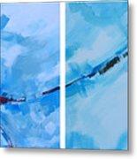 Entangled No.7 - Abstract Painting Metal Print