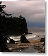 Serene And Pure - Ruby Beach - Olympic Peninsula Wa Metal Print