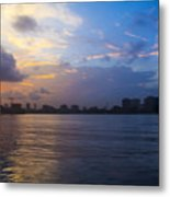 Serene City At Dusk Metal Print