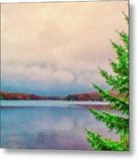Serene Lake Harmony Metal Print