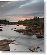 Serene Mornings Metal Print