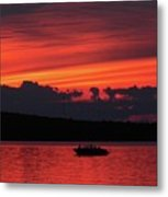 Serene Sunset Metal Print