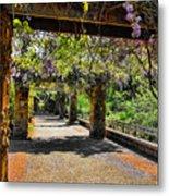 Serene Walkway  Metal Print