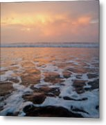 Serenity At The Sea Metal Print