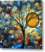Serenity Falls By Madart Metal Print by Megan Duncanson