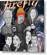 Serenity Firefly Crew Metal Print by Gary Niles