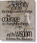 Serenity Prayer 01 Metal Print