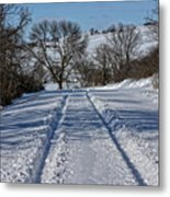 Serenity Road Metal Print