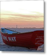 Serenity In Cape May Metal Print
