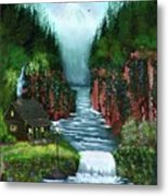 Serenity Valley Metal Print