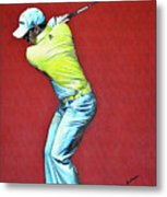 Sergio Garcia By Mark Robinson Metal Print