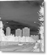 Series Of Black And White 48 Metal Print