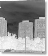 Series Of Black And White 49 Metal Print