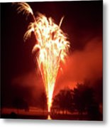 Series Of Fireworks 2 Metal Print