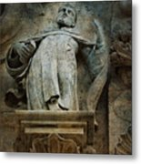 Sermon In Stone Metal Print