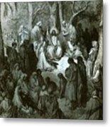 Sermon On The Mount Metal Print