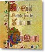 Sermon5 Metal Print
