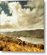 Serpentine Dam Tasmania Metal Print