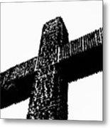 Serra Cross Metal Print