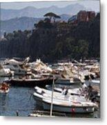 Serrento Harbour Metal Print