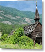 Seton Portage Church 2 Metal Print