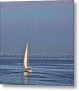 Setting Sail 2 Metal Print