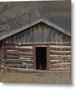 Settler Cabin Metal Print