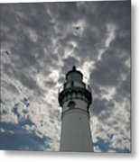 Seul Choix Lighthouse Metal Print