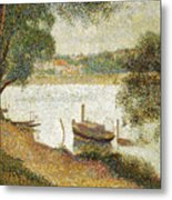 Seurat: Gray Weather Metal Print by Granger