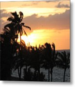 Seven Mile Sunset Metal Print
